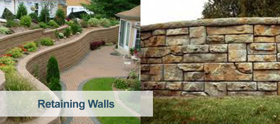 Specialists In French Drains And Retaining Walls
