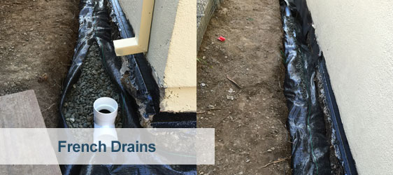 French Drain Installation Bay Area San Francisco 650 641 9000