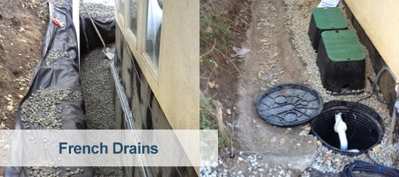 French Drain Installation Bay Area San Francisco 650 641 9000